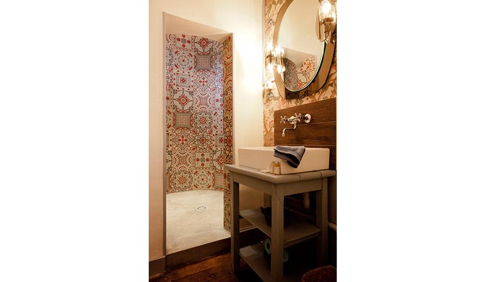 """Salle de bain de la suite """"Baron"""""""
