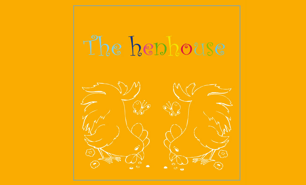 Henhouse of wild gallinaceous