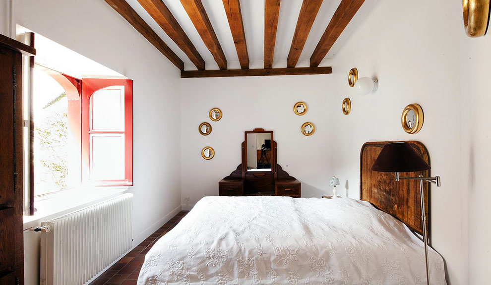 Gite, chambre San Miguel au rez de chaussée