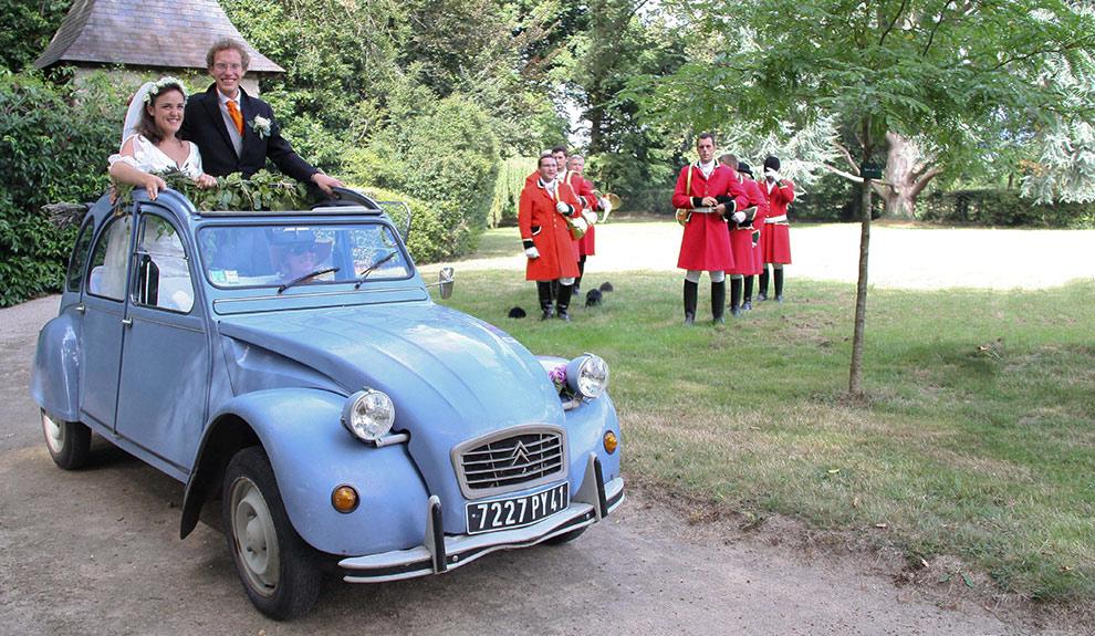 Mariage au Château de Troussay