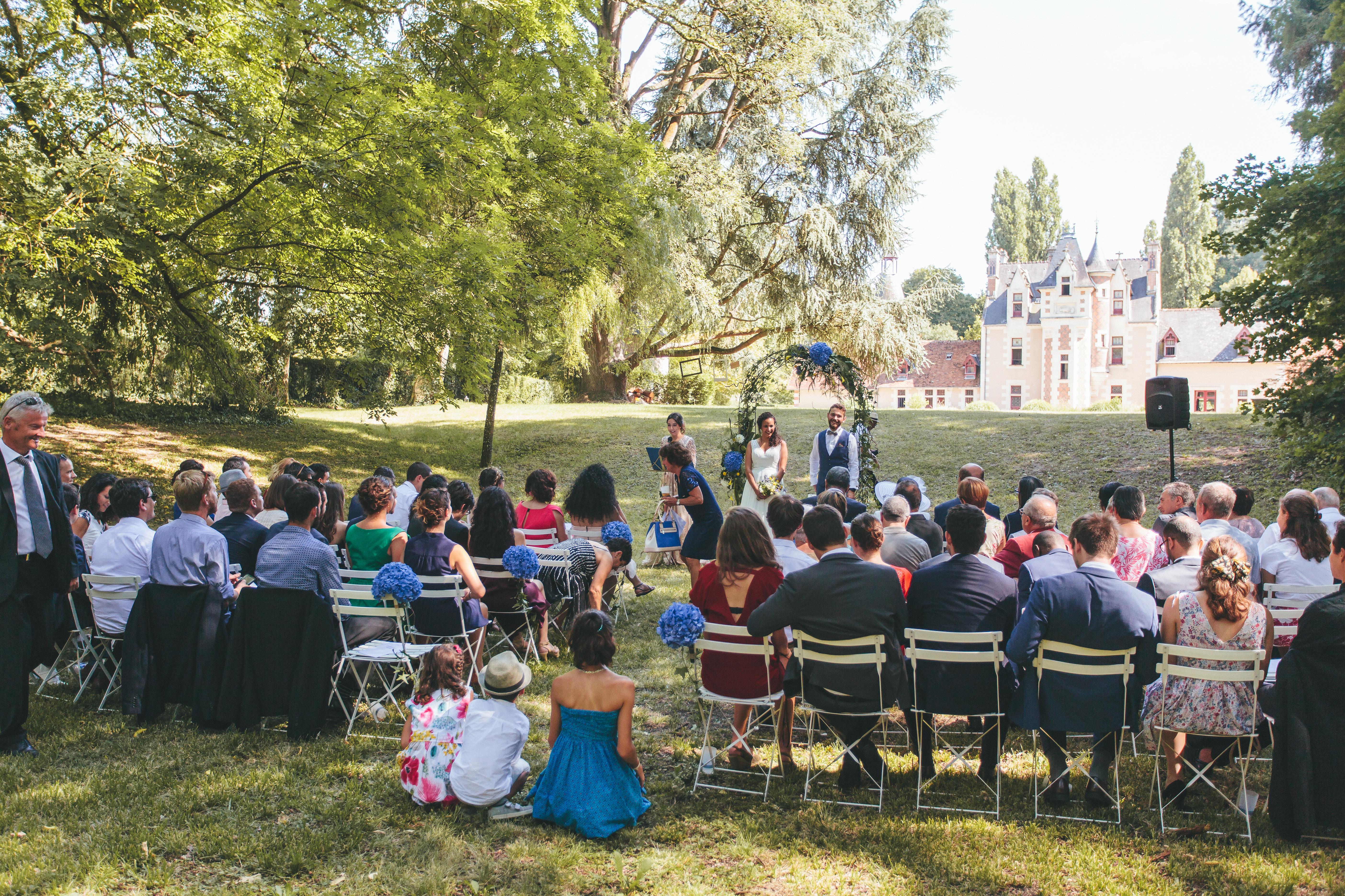 Mariage en Extérieur, Août 2018